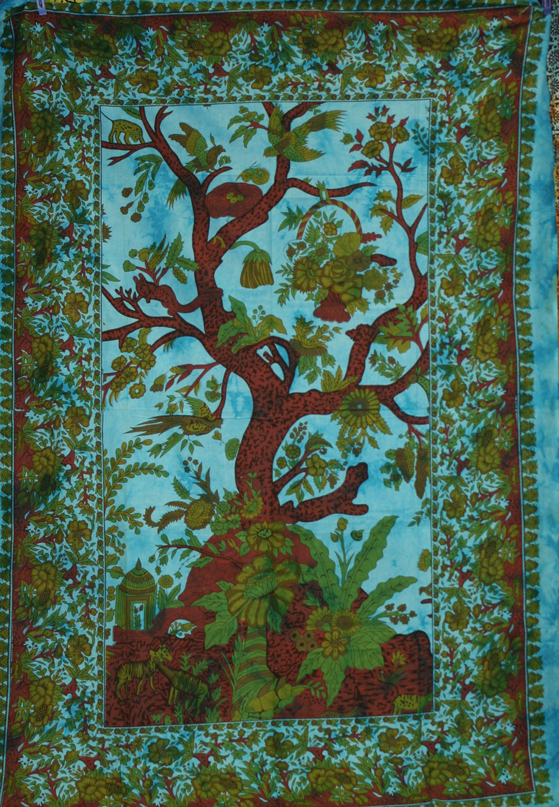 Tree Of Life Tapestry Deliciousamulet